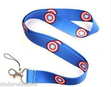 Lanyards accessories Office ID card holder -Captain America