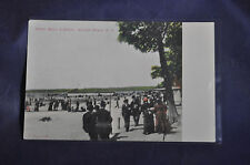 Board Walk and Beach, Sylvan Beach NY Postcard