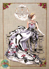 Cross Stitch Chart / Pattern ~ Mirabilia Crystal Symphony Elegant Woman #MD94
