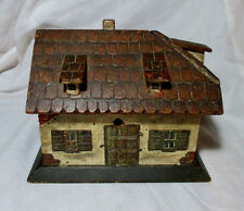 INCREDIBLE Hand Carved English Cottage SEWING WORK BOX ;Original ANTIQUE c1700's