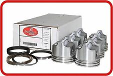 87-89 Chevrolet GM CAR 2.8L OHV V6 (6)FlatTop Pistons & Moly Rings  (Iron Heads)
