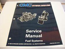 USED OMC STERN DRIVES SERVICE MANUAL FUEL SYSTEMS 507145
