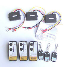 3 Wireless Winch Remote Control Kit 12V DC for Truck Jeep SUV ATV NEW