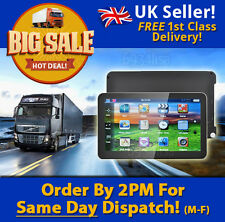 FREE UPDATES! 7 inch TRUCK SAT NAV 2017 for hgv/caravan/motorhome/car UK STOCK
