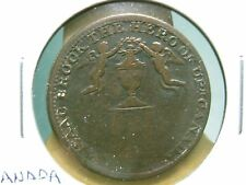 Very Nice 1816 Success to Commerce & Peace - Sir. Isaac Brock Token - BR 724