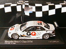 MERCEDES C CLASS #16 DTM 2009 TEAM GQ AMG MARO ENGEL MINICHAMPS 400093816 1/43