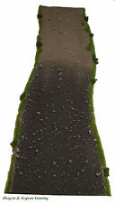 Wargames Rural Dirt/Metalled Transition Road 15mm-28mm FoW, Bolt Action,Terrain