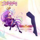 No Game No Life Shiro Purple Stockings For Cosplay Costumes New