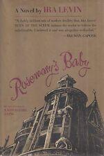 """IRA LEVIN """"Rosemary's Baby"""" (1967) SIGNED First Printing EXTRAORDINARILY RARE"""