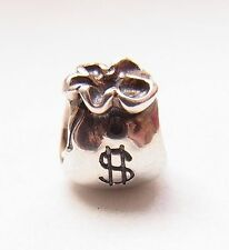 Original Pandora Beads Element 790332 Symbole Geldsack  Silber Charms  Nr. 8
