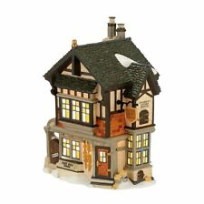 Department 56 Dickens Village EVAN HOYT SPONGE DEALER 4025256 BNIB Dept 56