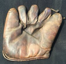 Antique Early 30s REACH SPLIT-FINGER Vtg BASEBALL GLOVE MITT LHT Alameda
