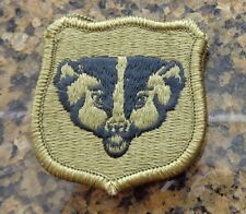 ARMY PATCH, ARMY NATIONAL GUARD HQS, WISCONSIN  ,MULTI-CAM,SCORPION, WITH VELCRO