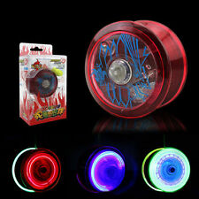 Light Up YoYo Ball for Magic Juggling Toy Fancy Moves Flashing LED Color RandomX