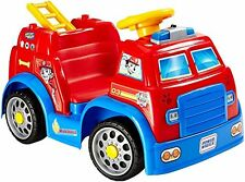 Power Wheels PAW PATROL TOYS Fire Truck, 2 mph Speed Fire Truck BABY TOYS, Red
