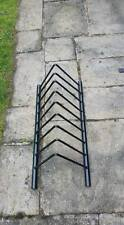 8 weight plate toast rack plate holder storage olympic standard or bumper plates