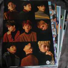 K-POP EXO XOXO 12 Posters Collection Bromide (12PCS) + EXO A3 Photo Sticker !!!