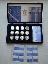 Royal Mint 2000 Queen Mother Centenary Silver Proof Coin Collection £5 $10 5
