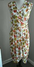 Vintage 1940s/50s style wrap over dress