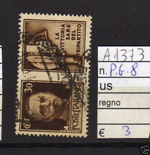 FRANCOBOLLI ITALIA REGNO USATI P.G. N°8 (A1373)