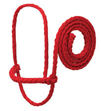 Weaver Leather Poly Rope Sheep/Goat Halter Red 35-7840-RD
