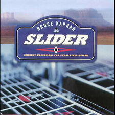 Slider: Ambient Excursions For Pedal Steel Guitar by Bruce Kaphan (CD,...