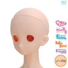 Volks Dollfie Dream Option Head DDH-06 without Makeup Eyeholes Open Normal Skin