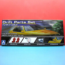 Aoshima 1/24 [Option Parts] S-Parts Drift Parts Set model kit #034330