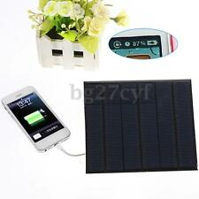 6v 3.5w 580-600MA Solar Panel USB Travel Battery Charger For iPhone 5S 6 6S Plus