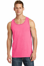 New Men's Tank Top Muscle Workout T-Shirt Sizes Small - 4XL Two Tone Sleeveless