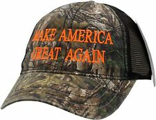 Make America Great Again Hat Adjustable Strap Camouflage Mesh PE100111