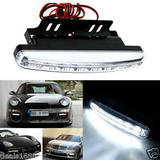 8 LED Light Daytime Driving Running DRL Car Vehicle Fog Lamp Waterproof DC 12V