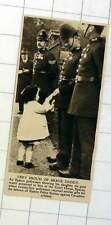 1920 Little Girl Very Proud Of Brave Epsom Policeman Daddy Defending Station