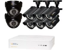 Q-See QTH8-8AK 8 Channel AHD Surveillance DVR with 8 x 720P Day / Night In / Out
