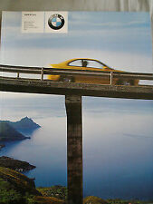 BMW M Cars brochure 2001 Ed 2 M3 Coupe & Convertible, M5, M Roadster & Coupe