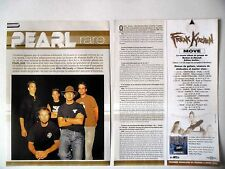 COUPURE DE PRESSE-CLIPPING : PEARL JAM [4pages] 11/2002 Mike McCready,S.Gosssard