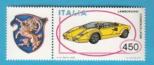 SERIE ITALIA AUTOMOBILI 1 VAL NUOVO 1985 LAMBORGHINI COUNTACH LP 500 + APPENDICE