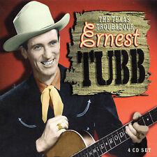 Texas Troubadour [Box Set] [Box] by Ernest Tubb (CD, Mar-2003, 4 Discs,...