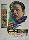 """ON THE WATERFRONT""..With Marlon Brando Classic Movie Poster A1A2A3A4 Sizes"