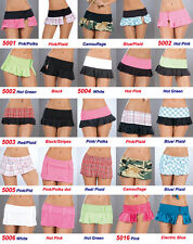 WHOLESALE LOT 250 WOMEN CLUB DANCE MIXED Rave SKIRTS PANTY BOOTY BOYSHORTS S M L