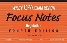 Wiley CPA Examination Review Focus Notes: Regulation