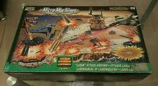 HUGE RARE LOT MICRO MACHINE MILITARY ELECTRONIC LASER ATTACK AIRSTRIP MIB
