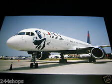 "DELTA  AIR LINES - ""757 AIRCRAFT WITH HANK AARON 755"" MOUNTED ON BOARD"