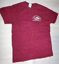 Al Gauron Fishing Parties Hampton Beach NH Gildan Maroon T-Shirt - Size Adult S