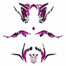 2006 - 2012 Raptor 700 graphics full coverage decal kit NO3500 Hot Pink