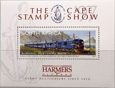Rsa Sudáfrica South Africa 1997 bloque 63 Cape Stamp show 97 tren Locomotive