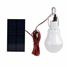 Portable Solar Power Led Bulb Lamp 0.8W Solar Panel Applicable Outdoor Lighting
