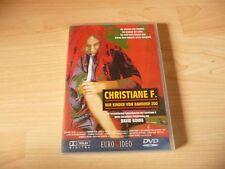 DVD Christiane F.  - Wir Kinder vom Bahnhof Zoo - 70s Kult - David Bowie