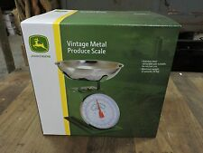 NEW John Deere/JD Metal Kitchen Produce Scale, Farm Advertising Sign, (AG)
