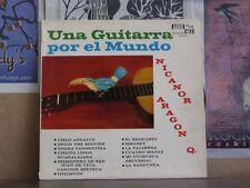 NICANOR ARAGON Q, UNA GUITARRA POR EL MUNDO - LP